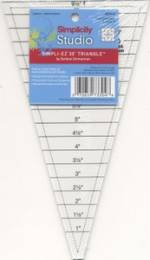 Simpli-EZ 30 degree Triangle Ruler