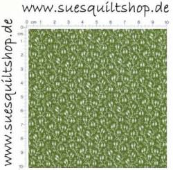 Windham Dear Jane 2 Green Mini Vine, Ranken grün >>> nur noch Fat Quarter <<<