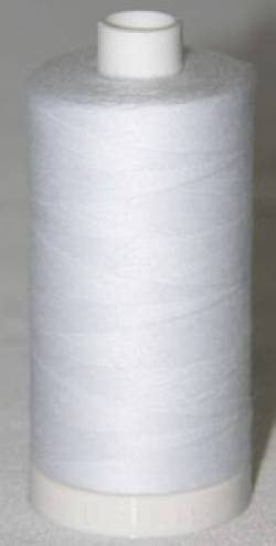 Aurifil Cotton Bobbin Thread 60 wt. 1400 m, weiss