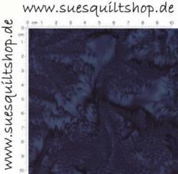 Hoffman Watercolor Batik Moonstruck dunkelblau