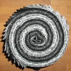 Schnelle Schnecke schwarz-weiß-grau-creme
