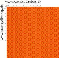 Art Gallery Oval Elements Tangerine Tango