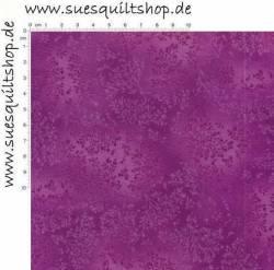 Robert Kaufman Fusions Aubergine Purple Tonal Leaves Blätter aubergine violett