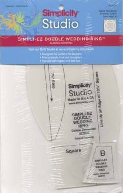 Simpli-EZ Double Wedding Ring Ruler