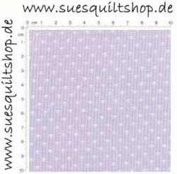 David Textiles 1930s Lavender Dotted Stripe, Streifen hell auf lavendel >>>  Mindestbestellmenge 1 Meter <<<