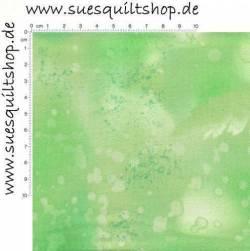 Benartex Fossil Fern Clear Mint leuchtend hellgrün