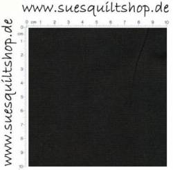 Henry Glass Rückseitenstoff black schwarz uni