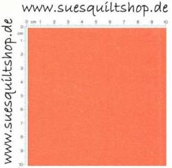 Henry Glass Rückseitenstoff Orange Solid orange uni >>>  Mini-Bolt 1,10 x 1,10 m <<<