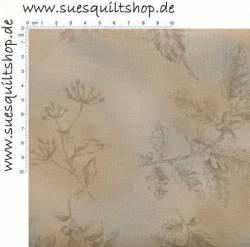 Lecien Centenary Collection Xvi By Yoko Saito, große Blumen rosé beige graublau taupe >>>  Mindestbestellmenge 1 Meter <<<