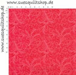 David Textiles Camiles Vintage Fiery Red, Paisley leuchtend rot