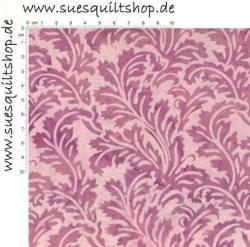 Hoffman Bali Handpaint Belle, Blätter pink