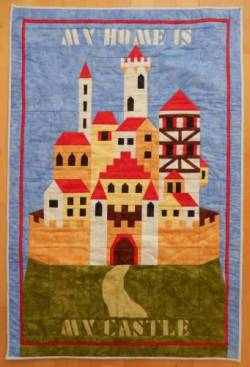 PDF Anleitung Block of the Month 2013 My Home is My Castle Complete Set BIG BLOCKS 8 inch - kein Versand in die EU außer D!