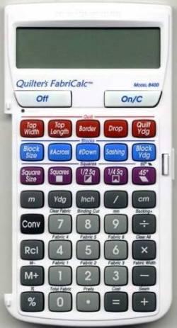 Fabric Calculator, Quilters Taschenrechner