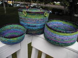 Anleitung Bali Bowls - Fabric Covered Clothesline Crafts