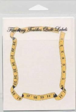 Quilt Label Tape Measure, Metermaß Maßband