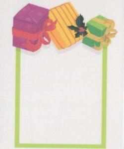 Quilt Label Holiday Gifts, Geschenkpäckchen
