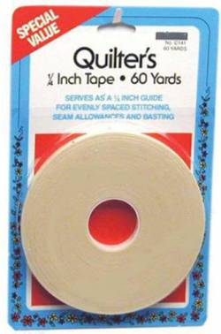 Quilters Tape 1/4 inch, ca. 54,8 m