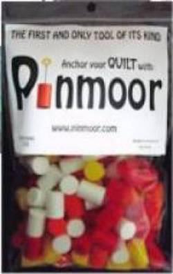Pinmoor rot, gelb, weiss, orange, 50/pkg