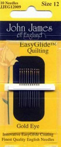 John James Quiltnadeln Gold N Glide Quilting Betweens No. 12