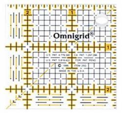 Omnigrid Lineal  2.5x2.5 INCH