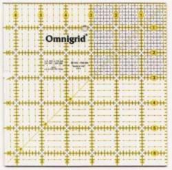 Omnigrid Lineal  6.5x6.5 inch mit kleinem Karoraster