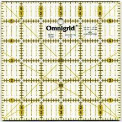 Omnigrid Lineal  6x6 inch, mit Winkeln