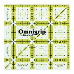 Omnigrip Antirutsch-Lineal  3.5x3.5 inch
