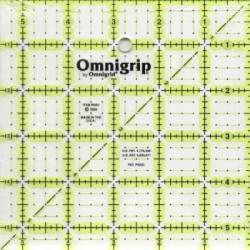 Omnigrip Antirutsch-Lineal  5.5x5.5 inch