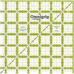 Omnigrip Antirutsch-Lineal  6.5x6.5 inch