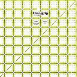 Omnigrip Antirutsch-Lineal  8.5x8.5 inch