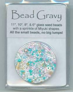 Bead Gravy Minty Pastels, Glasperlen Minze-Pastell Mischung