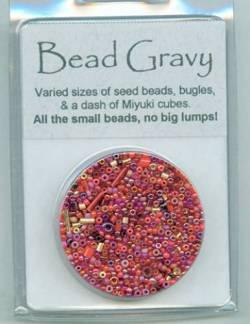 Bead Gravy Rich Paprika, Glasperlen rote Mischung