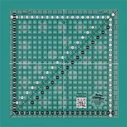 Creative Grids Antirutsch-Lineal METRISCH 21,5 x 21,5 CM