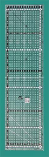 Creative Grids Antirutsch-Lineal METRISCH 16,5 x 61,5 CM