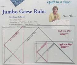 Flying Geese Lineal Jumbo Ruler Set