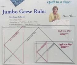 Jumbo Flying Geese Lineal Ruler Set