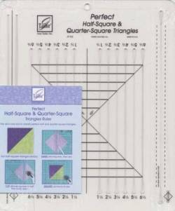 June Tailor Perfect Half Square Triangle Ruler