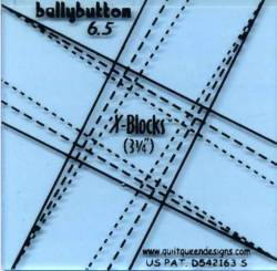 X-Blocks *Belly-Buttons* 6.5 INCH