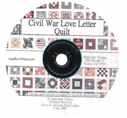 The Civil War Love Letter Quilt - *nur CD*