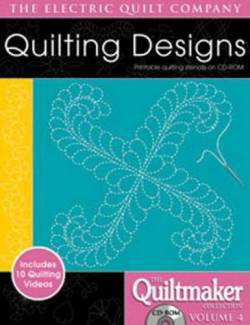 Quilting Designs 4 auf CD Quilting Motifs