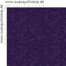 Henry Glass Purple Paisley