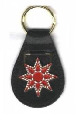 Schlüsselanhänger Feathered Star  >>> 50% reduziert <<<