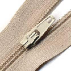 Make-A-Zipper Endlosreißverschluß ca. 5 m, mit 12 Zippern, beige