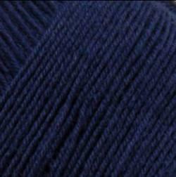 Regia Sockenwolle Uni Marineblau 50 g Knäuel