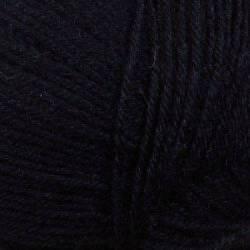 Regia 3-fädig  !!! Sockenwolle Uni Schwarz    50 g Knäuel
