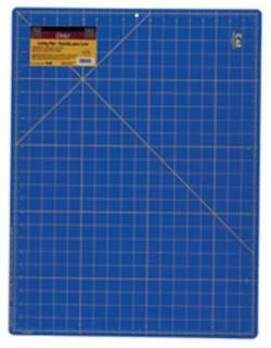 Dritz Schneidematte blau mit gelben Markierungen 18x24 INCH