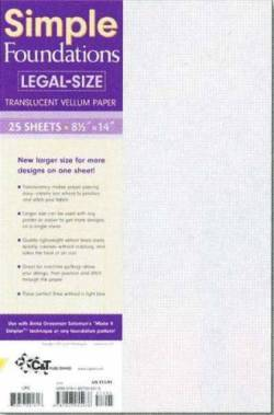 Carol Doaks Foundation Paper Legal Size 8.5 x 14 inch