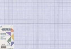 Schablonenmaterial gerastert, Schablonenfolie 12 x 18 inch