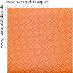 Stof Quilters Basic Memories Tile Yellow Orange