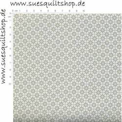 Stof Quilters Basic Memories Tile Grey White